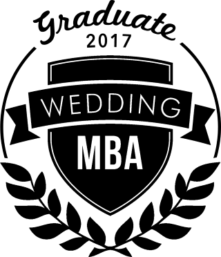 Wedding MBA 2017 Graduate