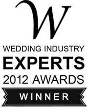 Wedding Industry Experts 2012 Awards Winner