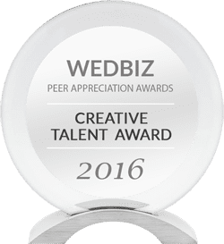 Wedbiz Creative Talent Award 2016