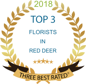 Three Best Rated Top Florists in Red Deer